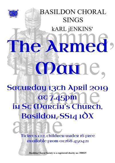Armed Man April 2019 flyer